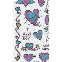 China OEM Portable vivid colors large temporary tattoo sticker with Fashionable designs on sale