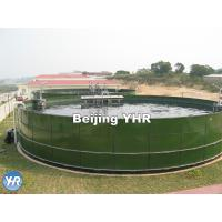 Corrosion Resistance Drinking Water Storage Tank 0.25 - 0.45 Mm Coat Thickness