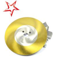 Steel Band Any Size High Speed Steel Saw Blade Ti Coated For Cutting Pipe Manufactures