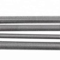 HDG Rolled Fully Threaded Rod DIN976 M12 Threaded Stainless Steel Bar Manufactures