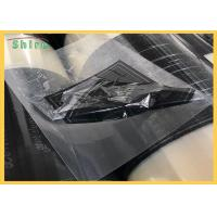 China LOGO Printed Transparent PE Protection Film For PET Film / PVC Protection Film on sale