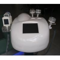 White Portable Cryolipolysis Equipment 5MHZ RF With 2 Touch Screens Manufactures
