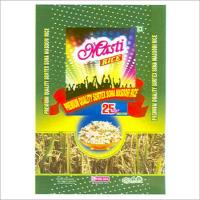 China 10kg Silk Screen / OPP Film Printing BOPP Laminated Bags Recyclable For Animal Food on sale