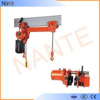 24v - 48v Manual Electric Chain Hoist , Limit Switch Devices Manufactures