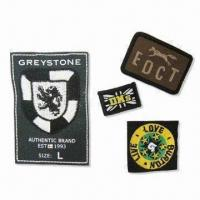 Quality Embroidered Badge/Patch, Customized Designs are Welcome for sale