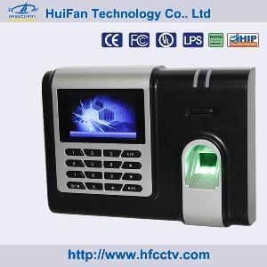 Hot Fingerprint Time Recorder, Punch Card Machine (HF-X628) Manufactures