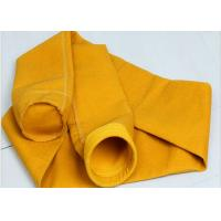 Quality P84 Polyimide Cement Dust Collector Bags High Tensile Strength 500~550GSM for sale