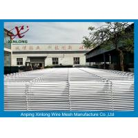 Galvanized Wire Welded To Wire Mesh Fence Panel With 3D Fold For School Manufactures