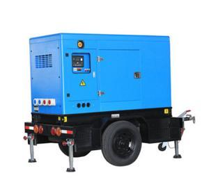 Mobile 85-175kva Perkins Diesel Generator Power Plant Delixi Breaker 4 Poles Manufactures
