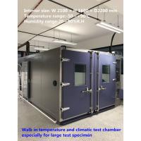 China High Reliability Temperature And Humidity Walk-In Chamber For Large Test Specimens on sale