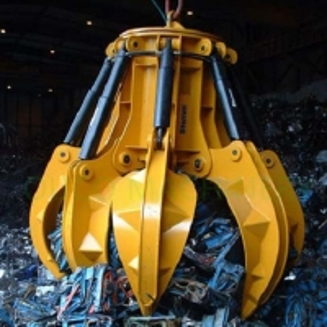 6 Ropes Bulk Cargo Orange Peels Crane Grab Bucket Manufactures