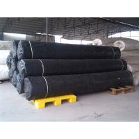 Black Shrink Resistant Non Woven Fabric For Road / Concrete Slope Manufactures
