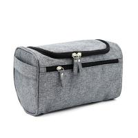 China Polyester Travel Hygiene Bag Shaving Bag Zip  With Convenient Carrying Handle on sale