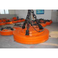 Quality Round Shaped Permanent Magnetic Lifter Insulation Grade F High Lifting Capacity   Electromagnetic Lifter for sale