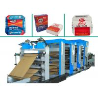 4 Colors Printing Multiwall Paper Bags Making Machine PLC Control Paper Bag Machinery Manufactures
