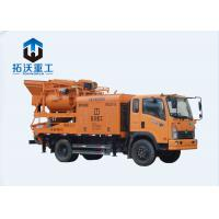 1KW Transformer Truck Mixer Pump With Mixing Electric Cement Forced Type Manufactures