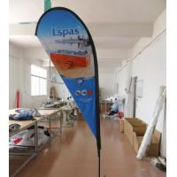 10 FT Outdoor Advertising Teardrop Flag Banners Manufactures