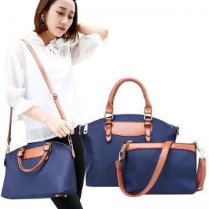 China Women Fashion Handbags Tote Bag Shoulder Bag Top Handle Satchel Purse Set 2pcs on sale