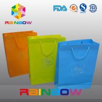 Promotion Cutom Color Printing Customized Paper Bags / Gift Bag grease proof paper bag Manufactures