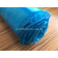 Blue High Absorbent EPE Foam Sheet OEM Silent Flooring Underlay PE Film Laminating Floor Manufactures