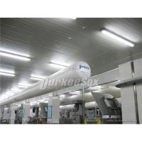 What is the PAD of textile ducting Manufactures