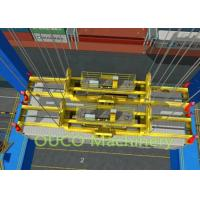 OUCO custom made mobile harbor gantry crane with container spreader Manufactures