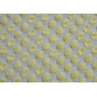 Flexible Bubble Flexible Stretchy Lace Fabric , Nylon / Spandex And Cotton Manufactures