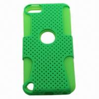 China Silicone Case for iPod Touch 5, Customized Colors and Sizes Welcomed, Suitable for Advertising Gift on sale