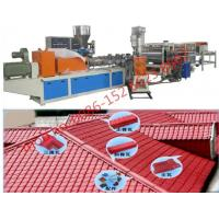 880mm Three Layers PVC Plastic Sheet Extrusion Machine Bamboo Roofing Production Manufactures