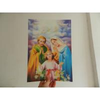 PET 0.45MM 75lpi  3D animal Lenticular Printing photo with strong 3d  depth effect printed by UV offset printer Manufactures