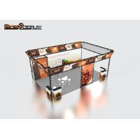 Lightweight Exhibition Truss Display Booth , Aluminum Outdoor Trade Show Booth Manufactures