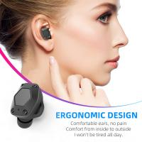 China T15 Wireless Bluetooth Earbuds , Noise Reduction Earphones For Portable Media Player on sale