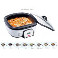 Adjustable Electric Multi Cooking Pot 6QT , Multi Cooker Electric Frying Pan Large Capacity Manufactures