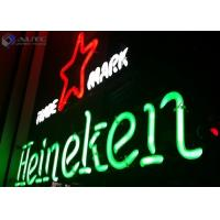 Christmas Sign Glass Outdoor Neon Lights 12V For Advertising Signage Manufactures