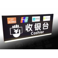 Supermarket Checkout Counter Led Directional Signs With Ceiling Hanging Design Manufactures