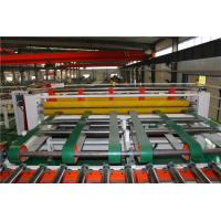 Double Sides PVC Film Plasterboard Lamination Machine With Cutting Machine Manufactures