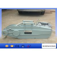 China Tirfor Manual Cable Pulling Tools Wire Rope Pulling Hoist Wire Rope Winch on sale