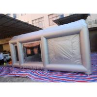 6m Long  Inflatable Spray Paint Tent With PVC Tarpaulin Or Oxford Cloth Material Manufactures