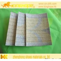 China Materials To Make Shoes Stripe Insole Board Shoes Insole Insole Sheet Fiber Insole Board on sale