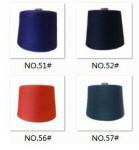 close virgin spun polyester yarn dope dyed,21S/1,ring spinning Manufactures