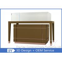 OEM Jewelry Glass Showcase / Jewellery Display Counter Showcase Manufactures
