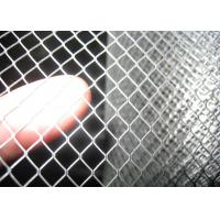 Mini Expanded Metal Mesh Thickness 0.8mm Punching Sliver ISO9001 approval Manufactures