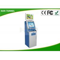 Coin Payment Self Service Ticket Machine , Hd Automatic Payment Terminal Manufactures