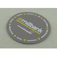 Customized Soft PVC Coaster , Promotional 3D Plastic Coaster Manufactures