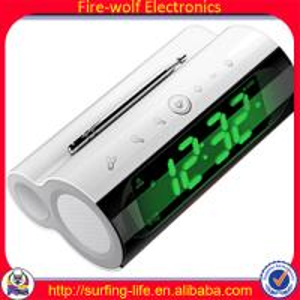 KL-3306B Electronic Alarm Clock + Speaker + Radio for mother