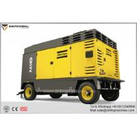 Large Portable Rotary Screw Air Compressor 7-25 bar Working Pressure 328 - 753 l/s Air Flow Manufactures