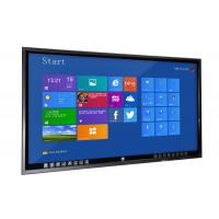 China University Teaching Flat Touch Screen Monitor , 70 Inch Learning Monitor Mit Touchscreen on sale