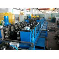 Heavy Duty Cable Tray Roll Forming Machine 400H Steel 8-15m/min Gearbox Driver Manufactures