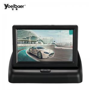 China 350cd/m2 Brightness 4.3 Car Rearview Lcd Monitor 16/9 Flip Screen 9-35V 7 Watt on sale
