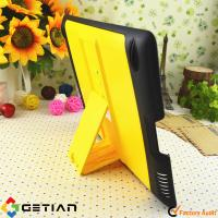 Black Yellow iPad Protective Cases / Tablet PC Accessories for Girl Manufactures